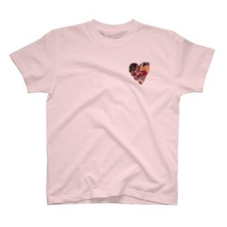 織りなすハート T-shirts