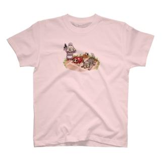 赤ずきん(クラウンチングスタート) T-shirts