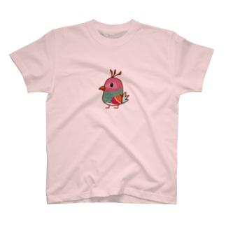 くじゃく T-shirts