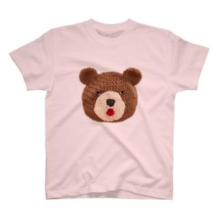 毛糸のくまちゃん T-shirts