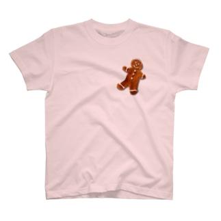 ジンジャーブレッドマン T-shirts
