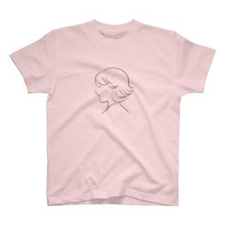 くせっ毛をうたう T-shirts