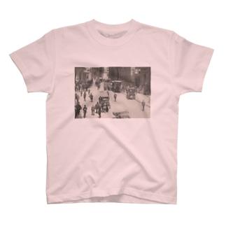 ウォールストリート<アンティーク・フォト> T-shirts