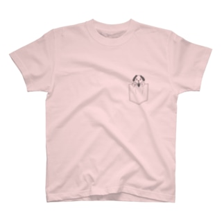 ポケット柄 ホイッピー T-shirts