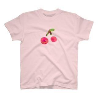 さくらんぼ(自我) T-shirts