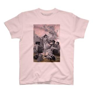 解剖学とヴィーナスの誕生 T-shirts