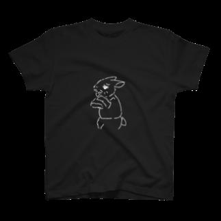 AngelRabbitsのうさぎむすこ(白8) Tシャツ