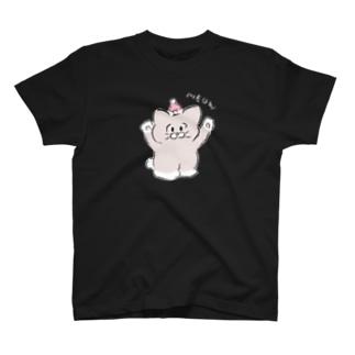 クロT×濃い色 Tシャツ