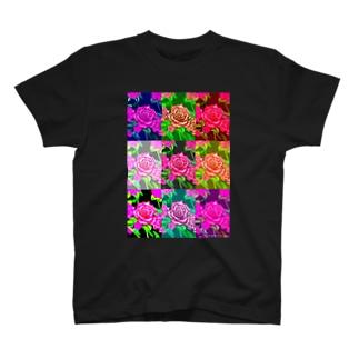 薔薇オリジナル Tシャツ