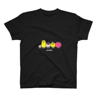 文字あるピッつってる協会公式T Tシャツ