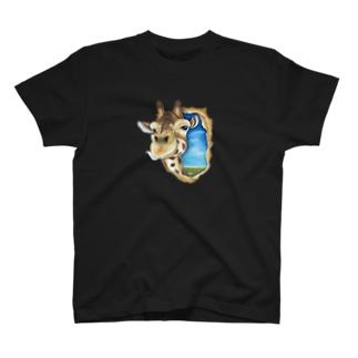キリンさん Tシャツ