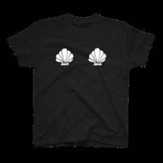 明季 aki_ishibashiの貝殻バストTシャツ