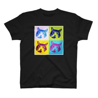 ラン君がいっぱい Tシャツ