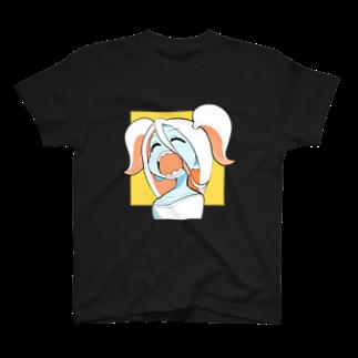 うにうーにのツインテールほい Tシャツ