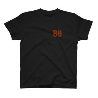 88オレンジロゴ Tシャツ
