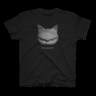 Naoのハードボイルドねこ 3Tシャツ