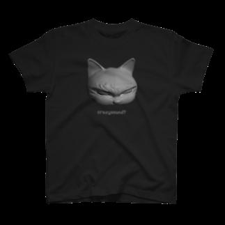 Naoのハードボイルドねこ 4Tシャツ
