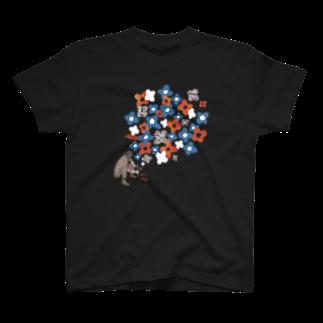 TRINCHの百花繚乱 Tシャツ