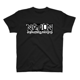 "nation4"" Tシャツ"