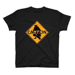 ウェアウルフ標識 Tシャツ