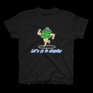 neoacoの買い物に行こう【がま口(唐草模様)】Tシャツ
