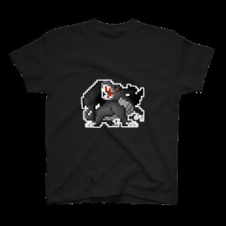 WINGLAYの黒龍 Tシャツ