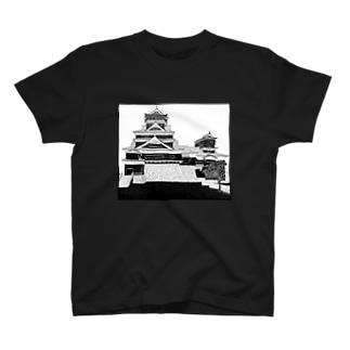 熊本城 Tシャツ