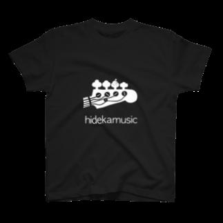 hidekaMusicのhidekamusic/special UFO editionTシャツ