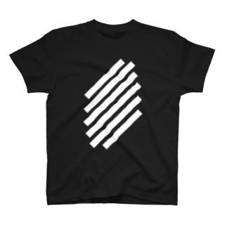 SlashWhiteStripe Tシャツ