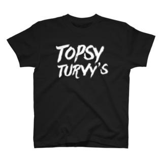 Topsy Turvy'sロゴ Tシャツ