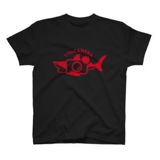 〈単136会〉T136SAME―赤 Tシャツ