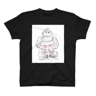 腹痛 Tシャツ