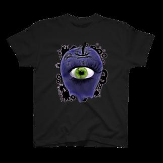 nue-designの悪魔の毒リンゴTシャツ