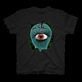 nue-designの悪魔の毒リンゴVer.2Tシャツ