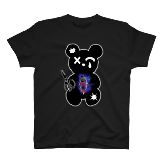 nue-designのひとりかくれんぼTシャツ