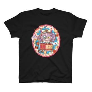 チェシャ猫 Tシャツ