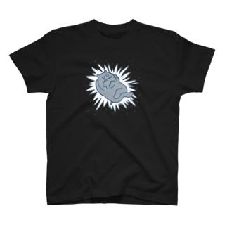 宇宙カバ Tシャツ