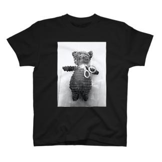 可哀想なテディ Tシャツ