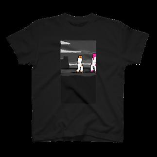 ksymの対と峙Tシャツ