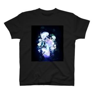 ガスマスクラゲ Tシャツ