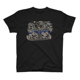 HAPPY DJ Vinyl Tシャツ