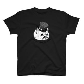 紳士淑女なあなたとわたしのペアTシャツ Tシャツ