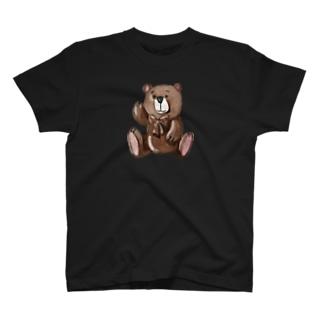 ハンサム熊 Tシャツ