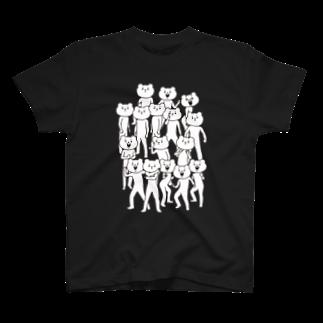 ベタックマのベタックマ いっぱい(中) 闇属性Tシャツ