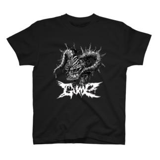 Needle skull Tee Tシャツ