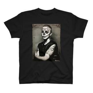 Mona Lisa💀 Tシャツ