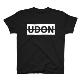 UDON(白文字) Tシャツ