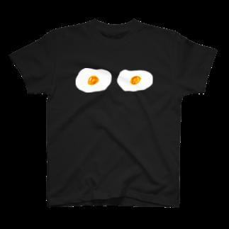 明季 aki_ishibashiの卵ブラTシャツ