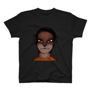 僕はときどき猫になる Tシャツ