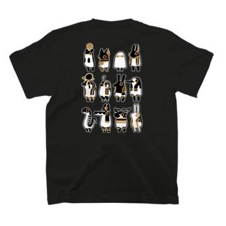 背中に とーとつにエジプト神 12柱 T-shirts